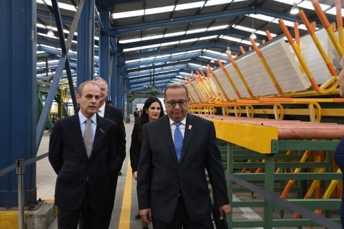 CAP inaugura nueva planta productiva en Perú